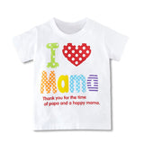 Girls T-shirts Summer Style Kids T-Shirt Children's