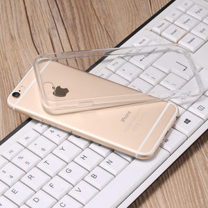 Crystal Clear Slim Case For iPhone