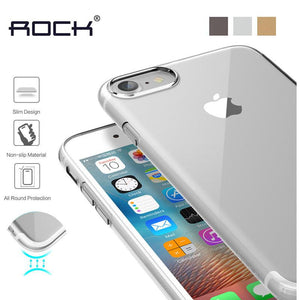 Crystal Clear Cover for iPhone 7 / 7 Plus by Rock
