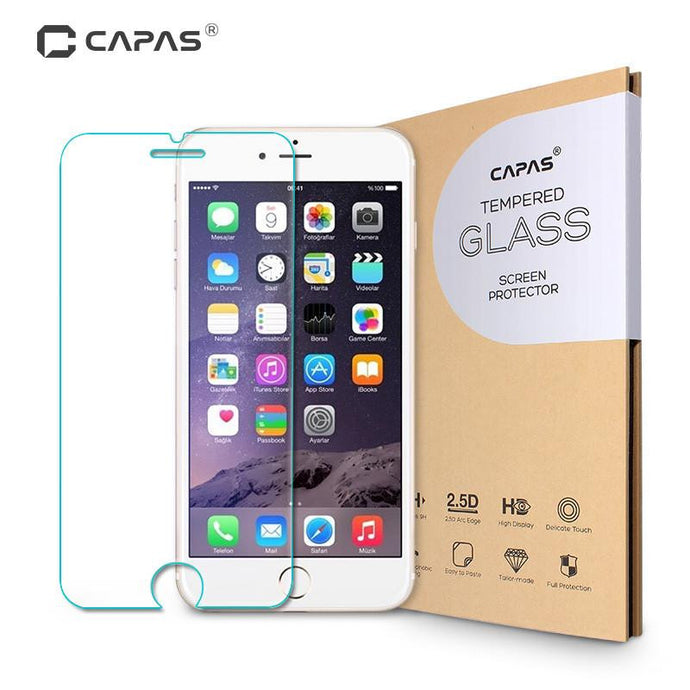 Tempered Glass Screen Protector For iPhone 7 / 7 Plus/ 6 / 6 Plus/ 5 SE / 5S / 5 / 5C