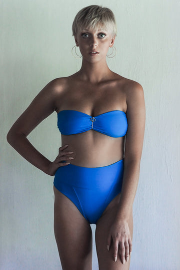 WENDY TOP | SEA BLUE - seamoneswimwear