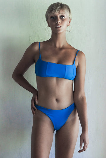 LYDIA BOTTOM | SEA BLUE - seamoneswimwear