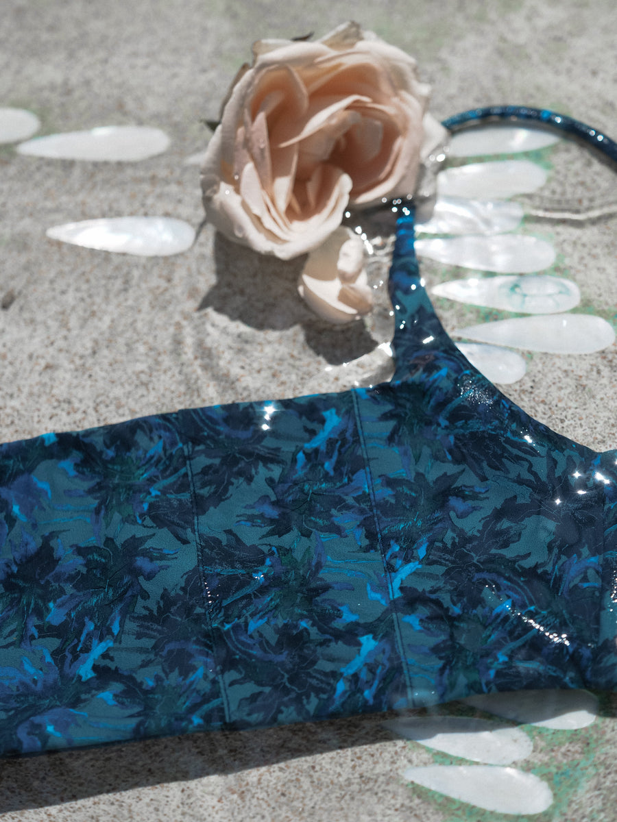 NANCY TOP | SEA JUNGLE - seamoneswimwear