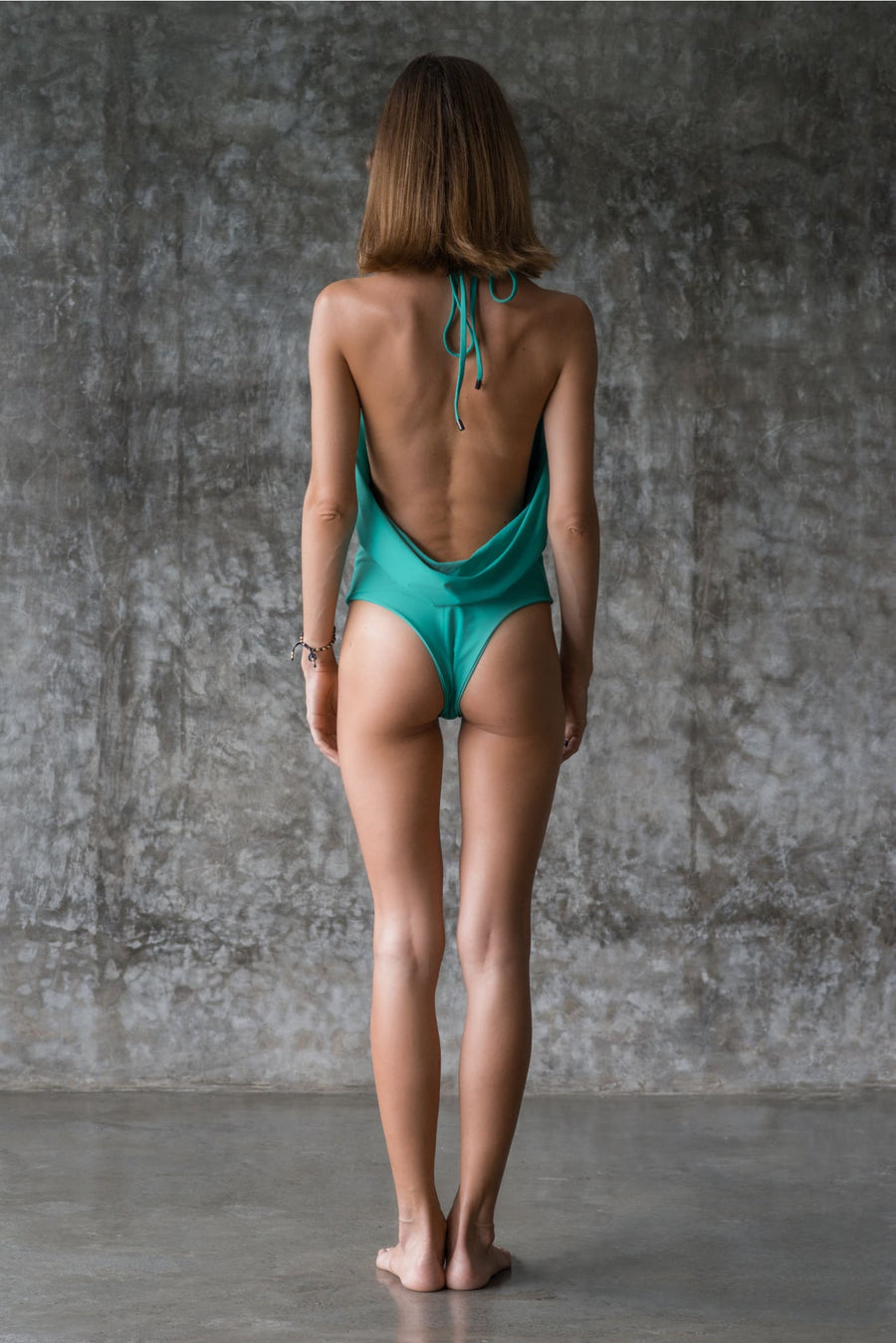 CAROLINE PIECE | ENVY GREEN | 50% OFF - seamoneswimwear