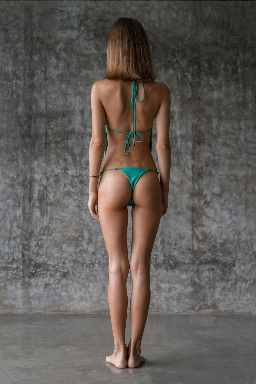 COURTNEY BOTTOM | ENVY GREEN - seamoneswimwear