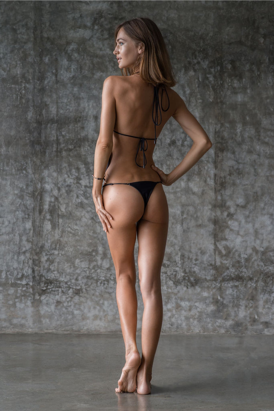 COURTNEY BOTTOM | INK BLACK - seamoneswimwear