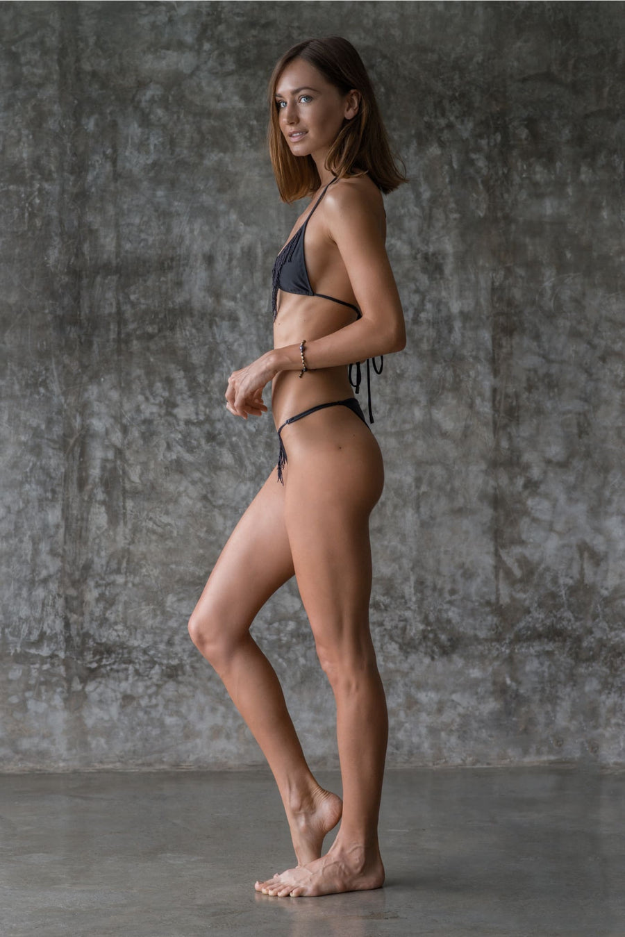 DEBBIE BOTTOM | INK BLACK | 50% OFF - seamoneswimwear