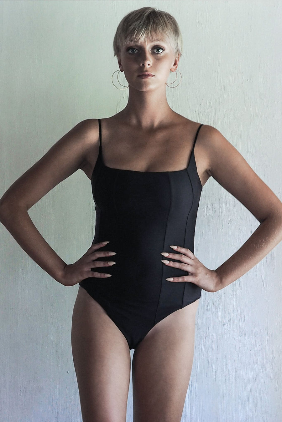 DOLORES ONE PIECE | SEA BLACK | ONE LEFT IN STOCK. - seamoneswimwear