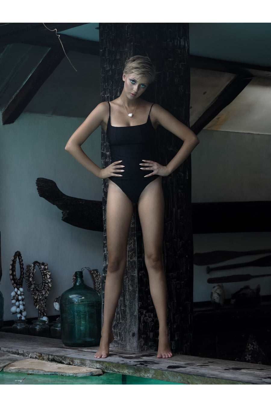 DOLORES ONE PIECE | SEA BLACK - seamoneswimwear