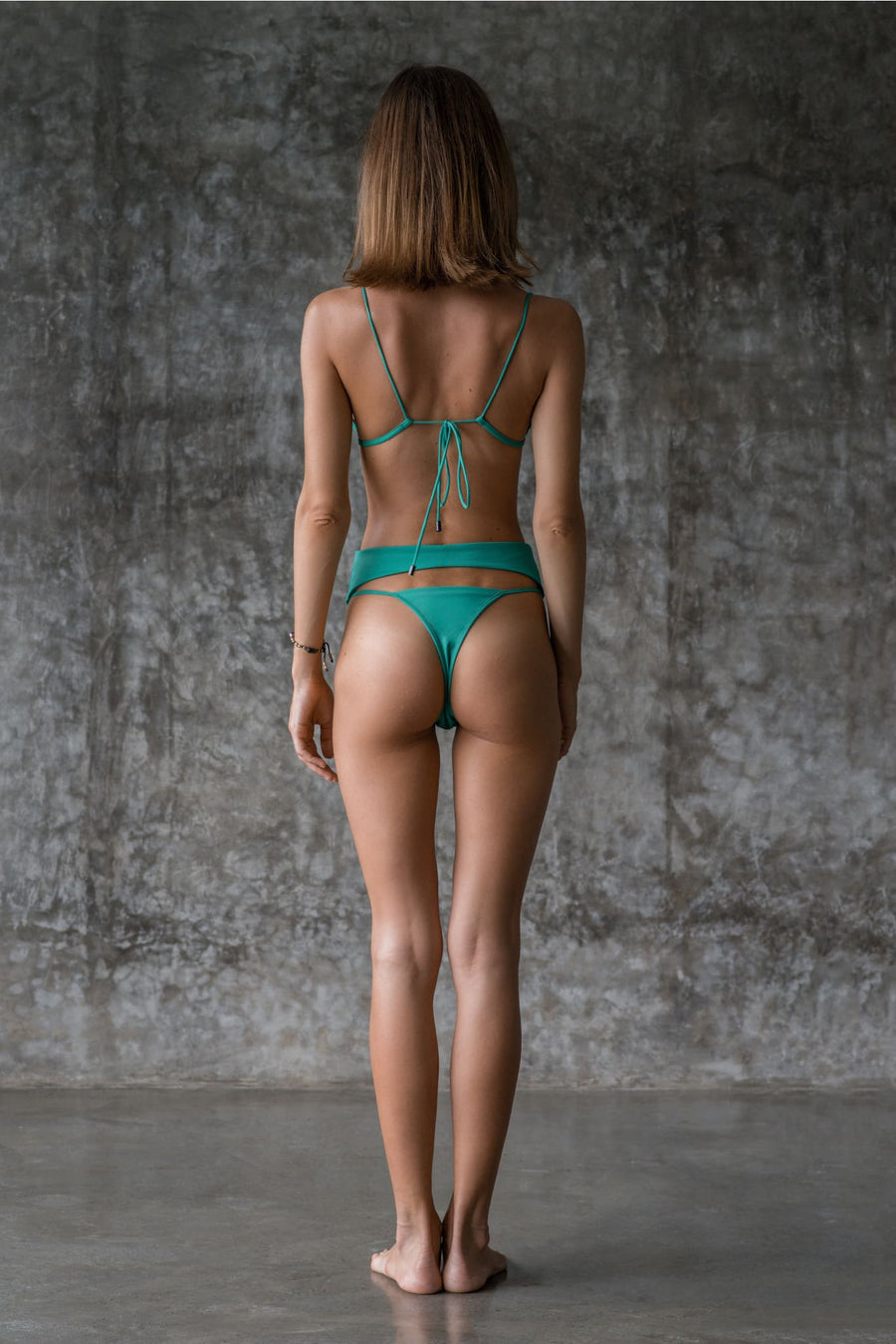 EXENE BOTTOM | ENVY GREEN | 50% OFF - seamoneswimwear