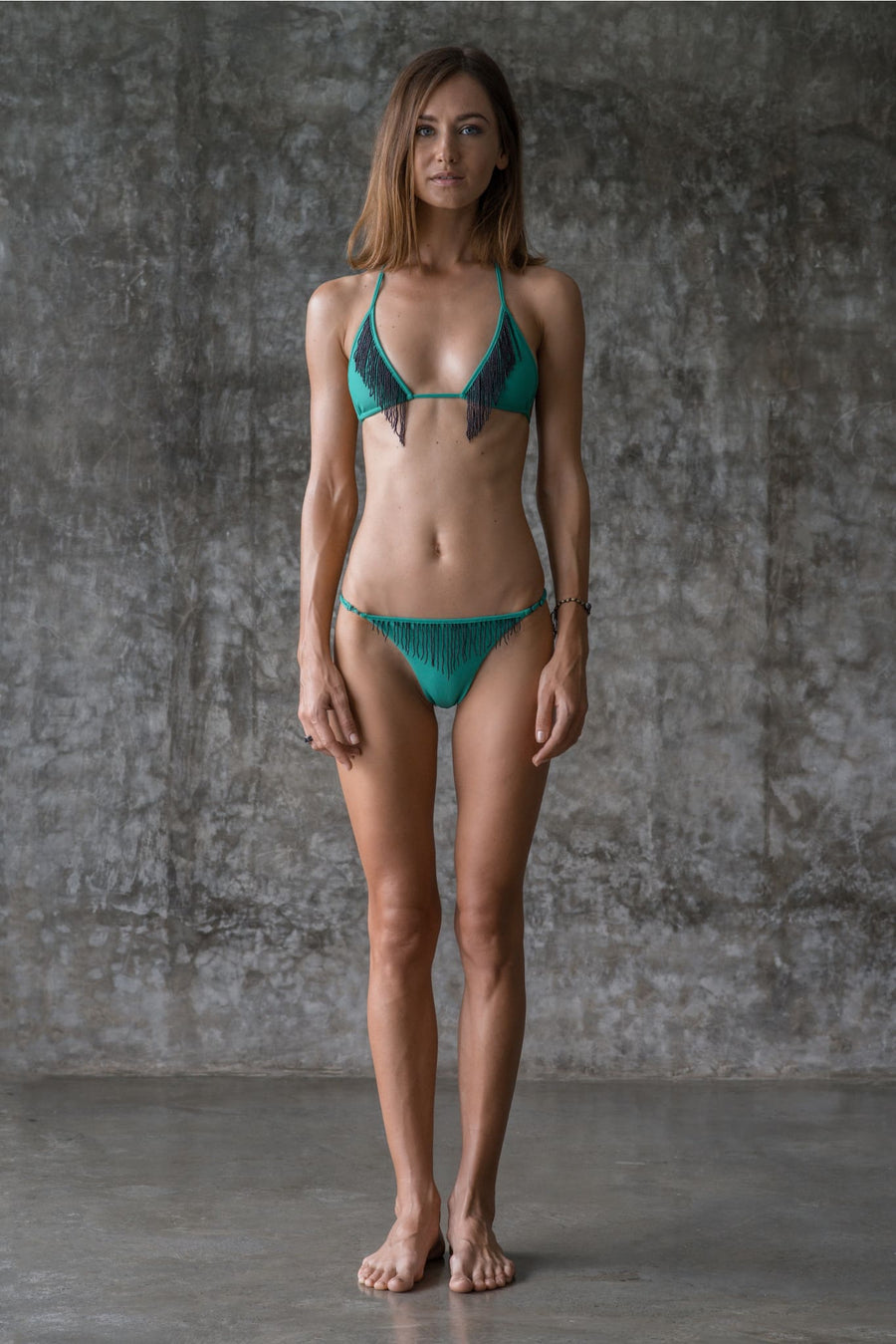 GLORIA TOP | ENVY GREEN | 50% OFF - seamoneswimwear