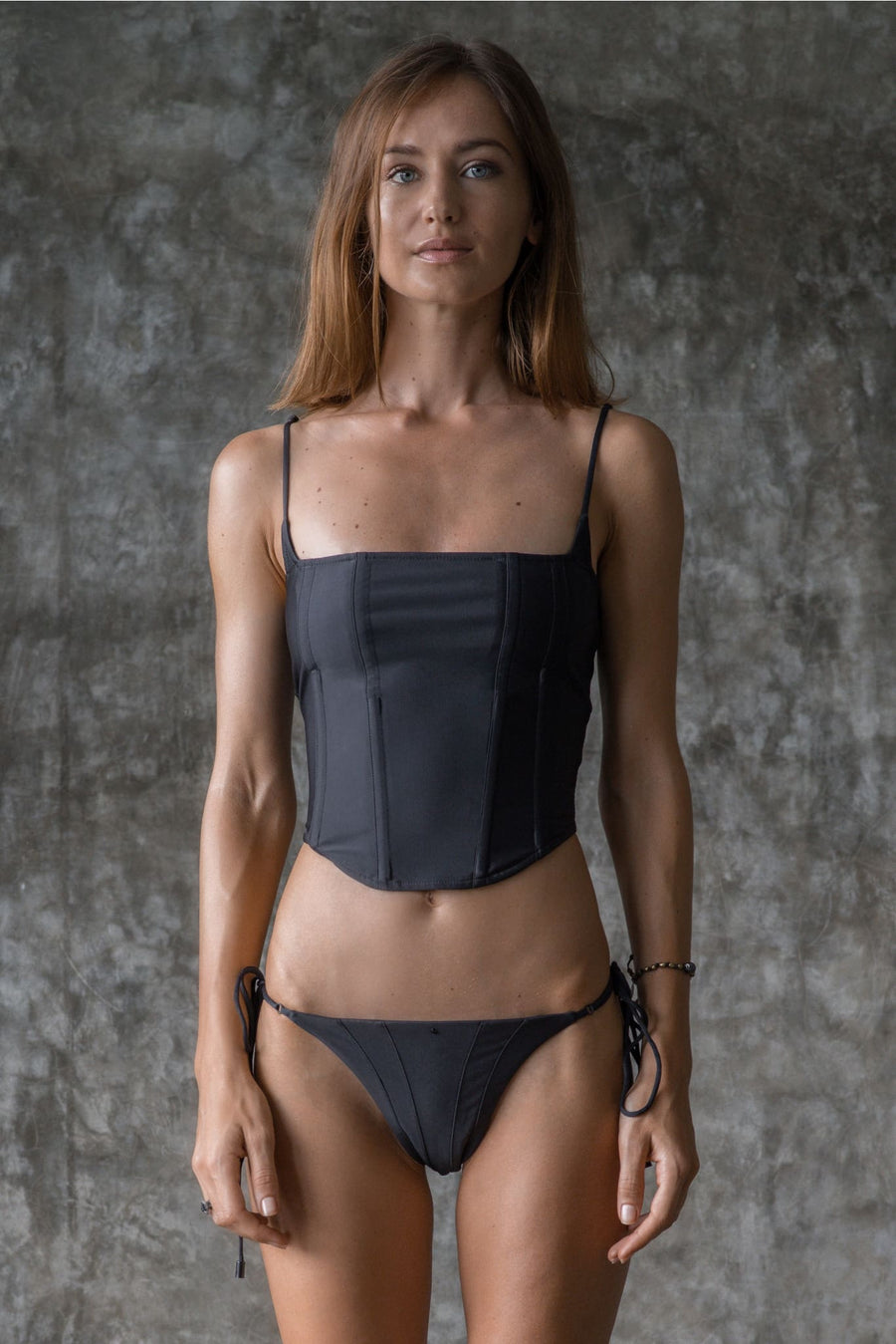PATTI TOP | INK BLACK | 50% OFF - seamoneswimwear