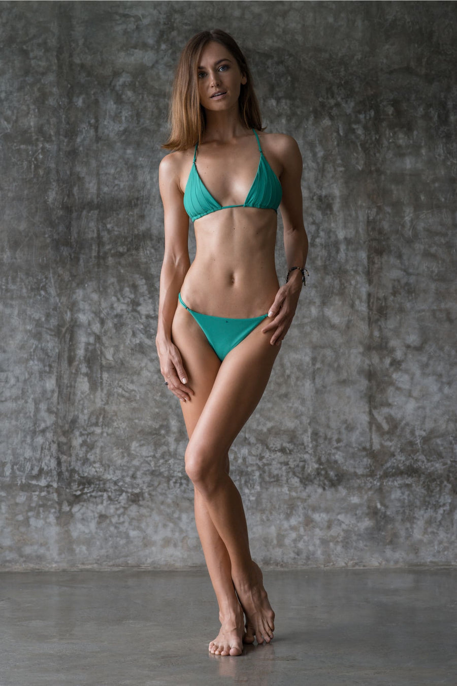 SIMONE TOP | ENVY GREEN - seamoneswimwear