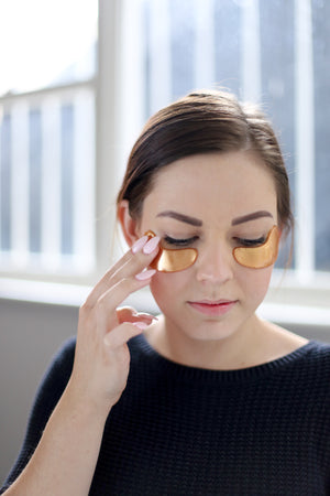 Gold Glow 24K Eye Mask - 5 Pack