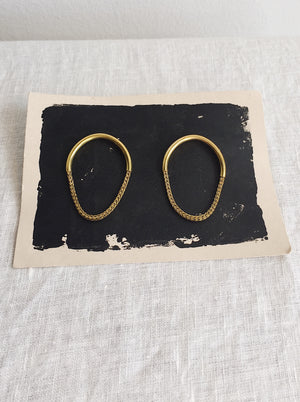 Sable Arc Earrings