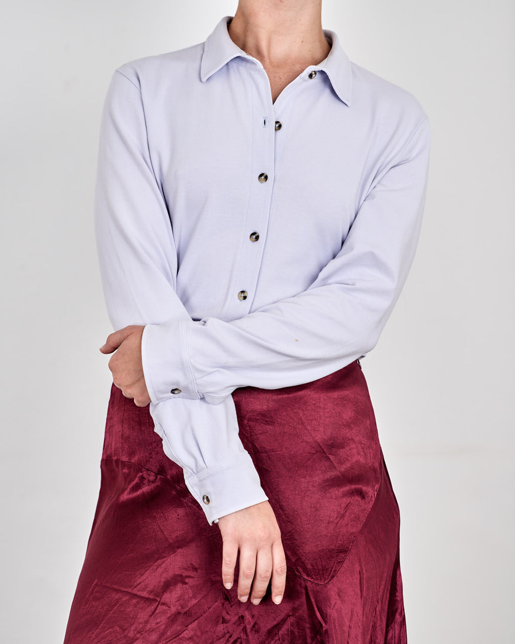 Lilac Soft Cotton Shirt