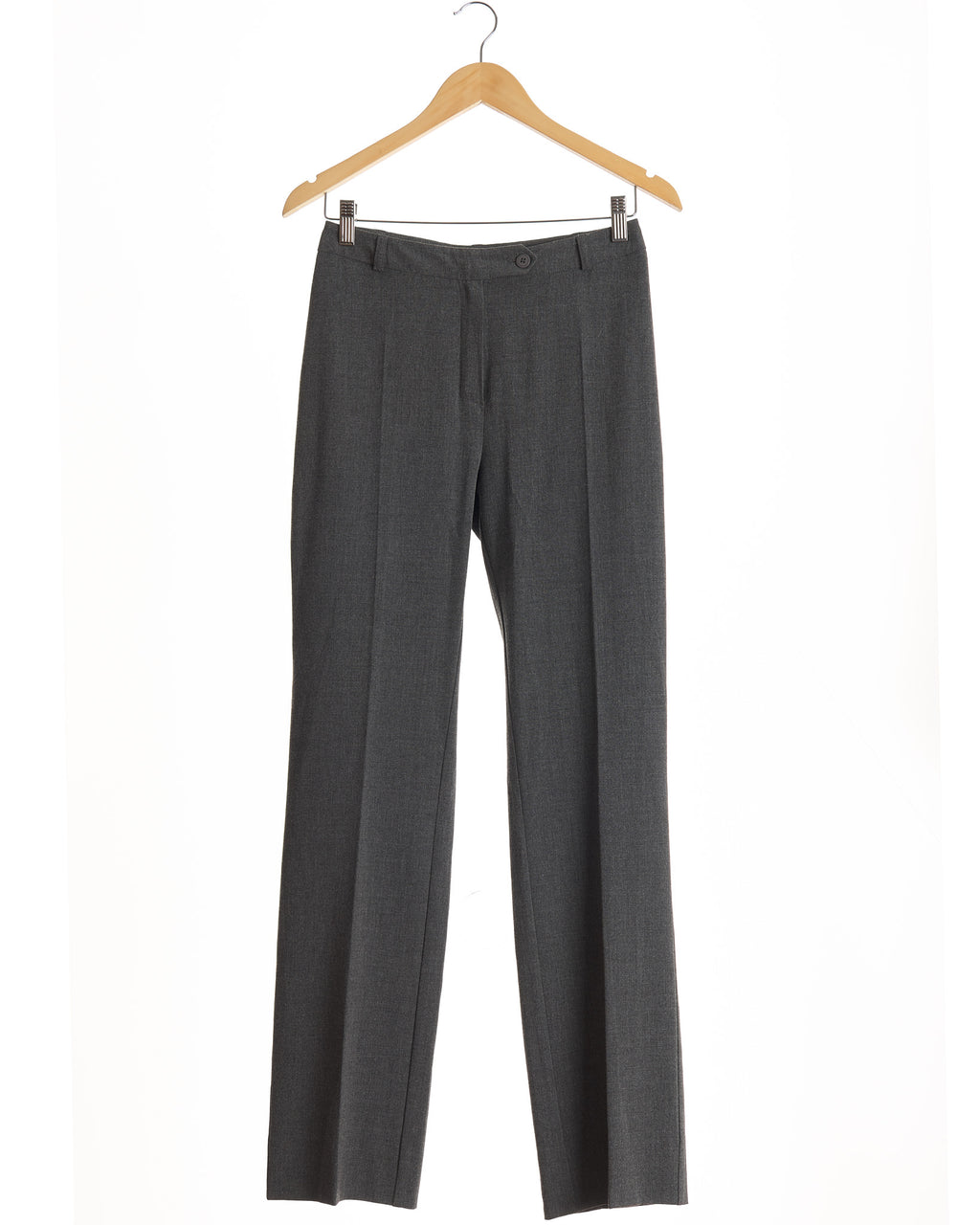 Graphite Grey Tailored Vintage Trousers