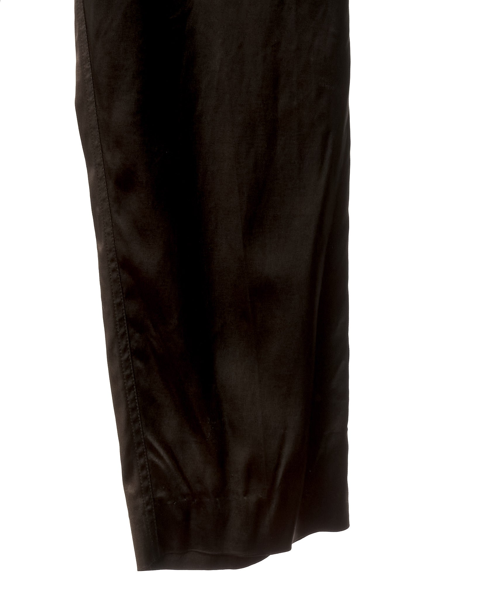 Cocoa Vintage Satin Stretch Trousers