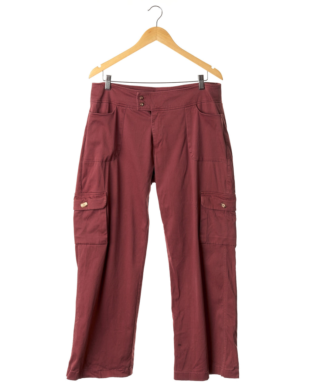 Blush Terracotta Utility Trousers
