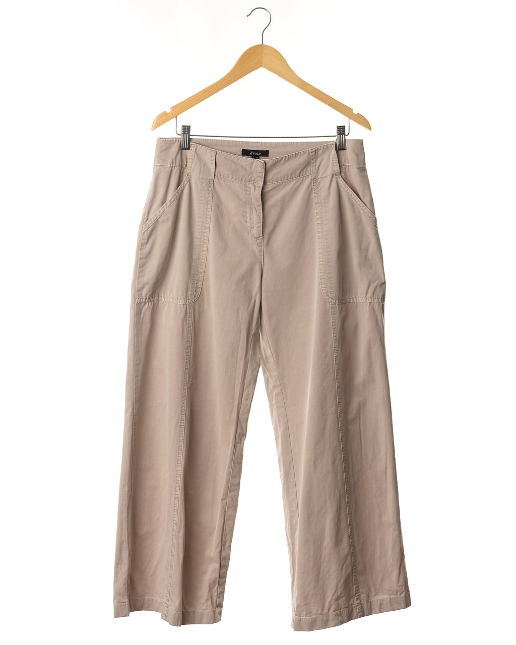 Oatmeal Cotton Trousers