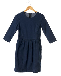 Indigo Stretch Denim Dress