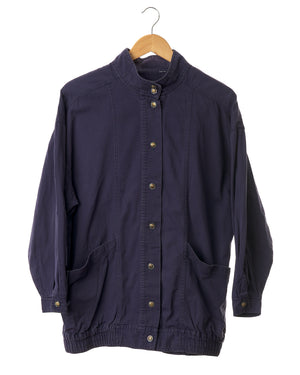 Vintage Navy Cotton Jacket