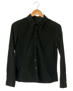 Deep Forest Green Corduroy Shirt