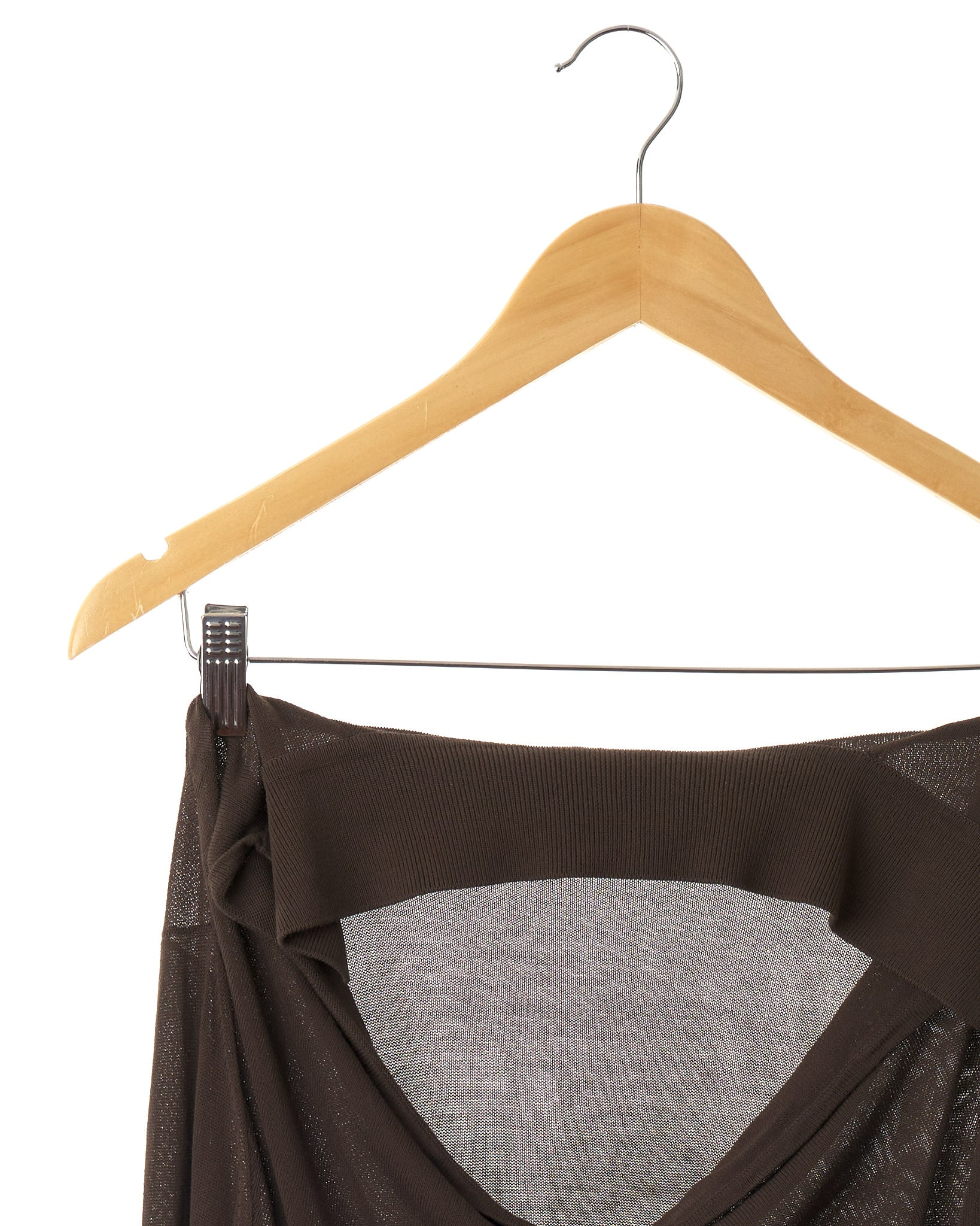 Designer Cocoa Brown Top