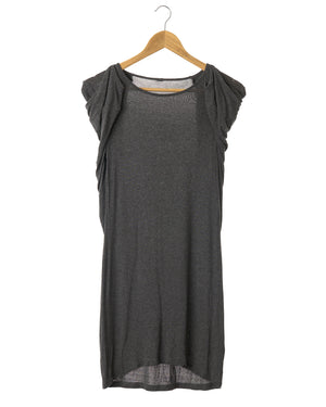 Dark Grey Knit Dress