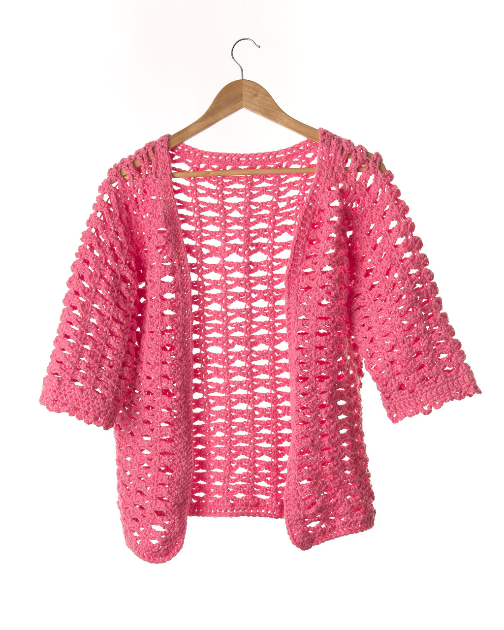 Tulip Pink Vintage Knitted Jersey