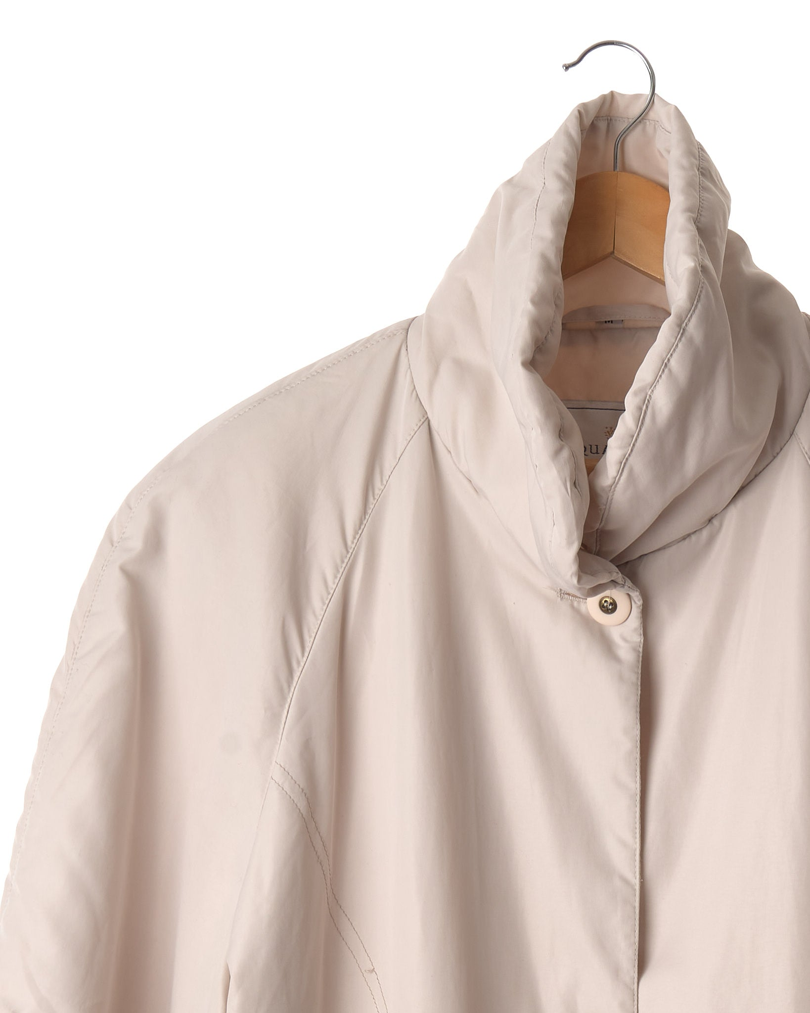 Cream Puff Vintage Car Coat
