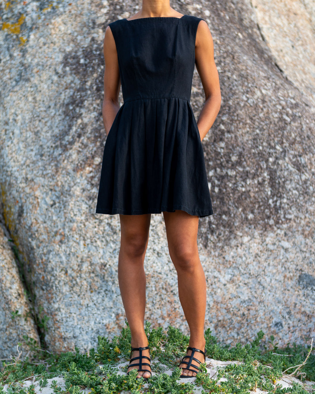 Jade Black Ballerina Dress