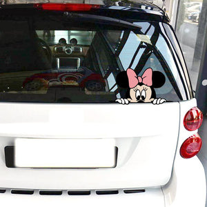 "Stickeri za Auto ""Minnie Mouse"" za Retrovizor"