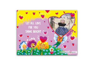Love Shines<br>Personalized Poster