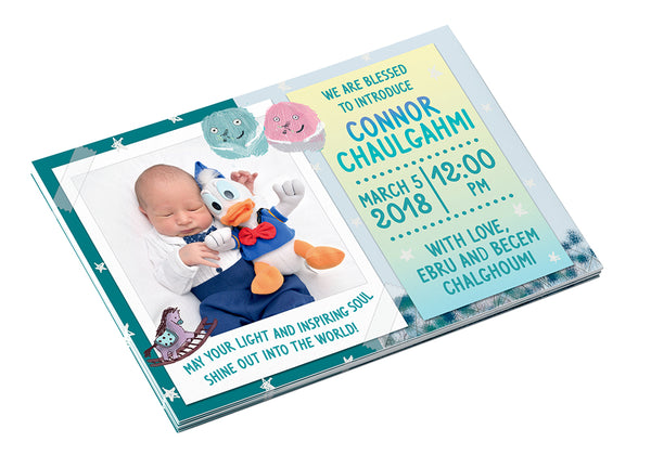It is a Boy <br>Birth Announcement Postcard