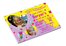 Love Shines <br>Personalized Birthday Invitation