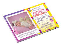 It is a Girl <br>Birth Announcement Postcard
