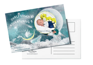Personalized The Path <br>Milestone Postcard
