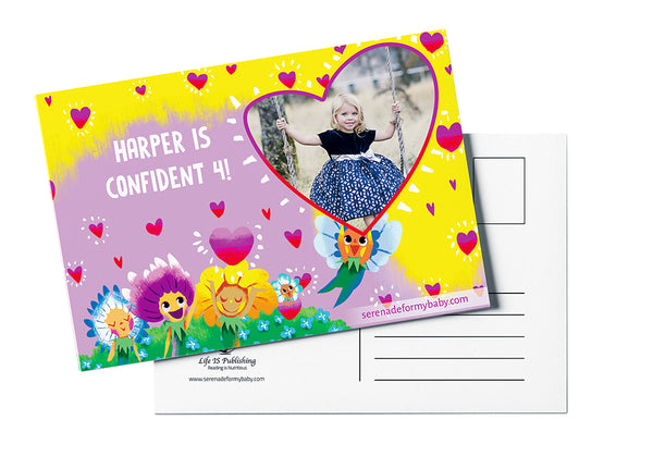 Personalized Love Shines <br>Milestone Postcard