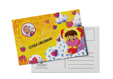 'Love Is' Personalized Postcard