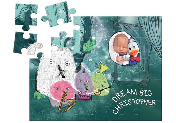 'Dream Big' <br>Personalized Puzzle