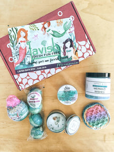 Lavish Bath Box - Your monthly source for indie artisan bath products
