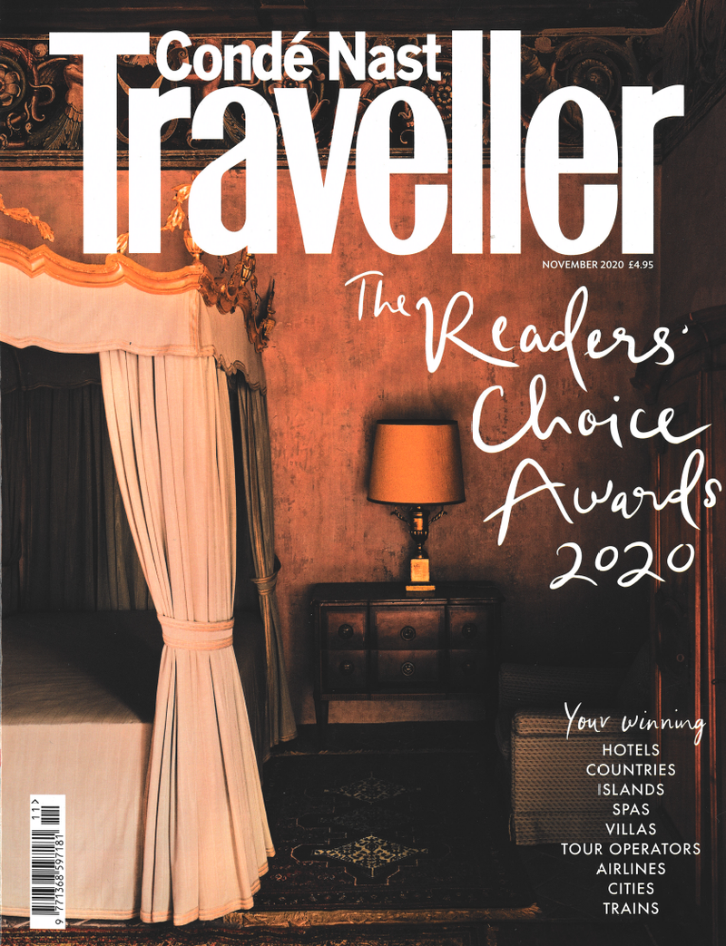 Condé Nast Traveller Nov. Issue