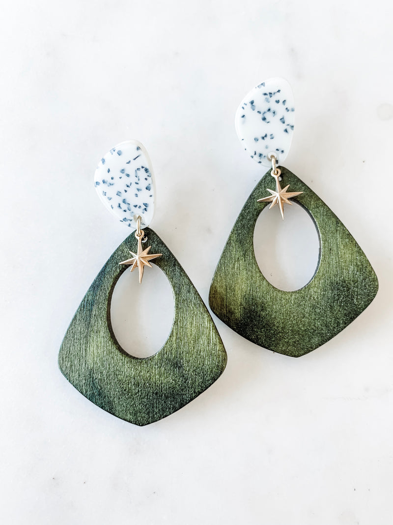 Palm Springs Retro Earrings - The Pretty Eclectic
