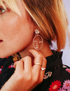Abstract Face Earrings - The Pretty Eclectic