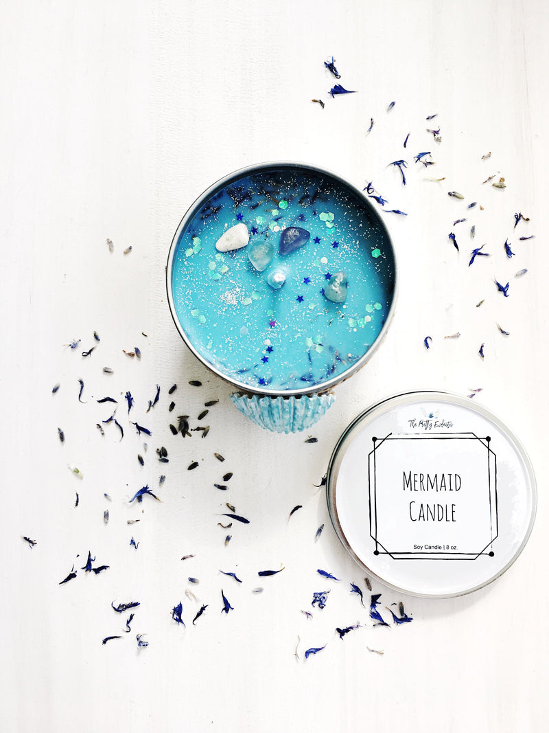 Mermaid Candle