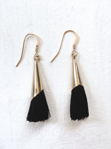 Tulip Tassel Earrings