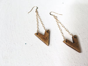 V Bone Earrings - The Pretty Eclectic