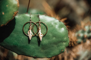 Spindle Shell Earrings - The Pretty Eclectic