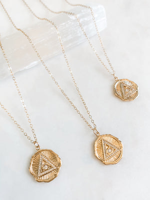 Eye of Providence Necklace